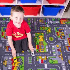Kids City Rug by Colourful Fun Roads Children U0027s Rug Kukoon