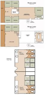 moose lodge zion vacation home rental zion ponderosa floor plan