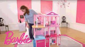 Barbie Home Decoration Barbie Dreamhouse Step By Step Assembly Video Barbie Youtube