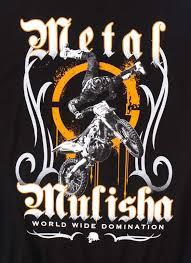 mulisha faisst t shirt mens black short sleeve tee with fmx design