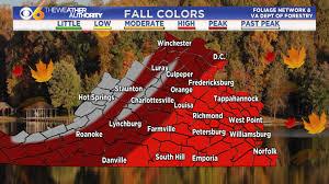 u0027ll peak fall colors central virginia wtvr