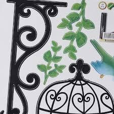 online shop pvc removable colorful cage birds flowers floral wall online shop pvc removable colorful cage birds flowers floral wall sticker home art kids children room decoration aliexpress mobile