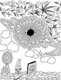 zen coloring pages pesquisa do google cannabis pinterest