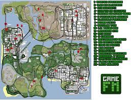San Andreas Map Mapa Aponta Todos Os Segredos Maléficos De Gta San Andreas