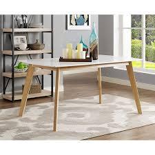 Retro Modern Desk Urijah Retro Modern Dining Table Reviews Birch