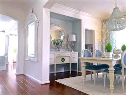 kristy wicks u0027 blue u0026 white dining room