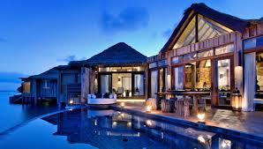 top 5 luxury overwater villas fiji maldives bora bora cambodia