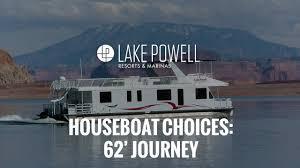 62 u0027 journey houseboat lake powell youtube