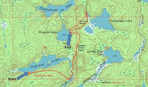 Bwca Map Day 2 Solo Hiking The Sioux Hustler Trail Father U0027s Day Weekend
