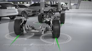 audi a8 2017 dynamic all whell steering press material youtube