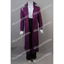 Purple Rain Halloween Costume Prince Rogers Nelson Purple Rain Coat Cosplay Costume Skycostume