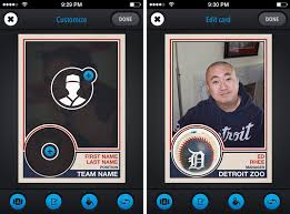 how to turn your iphone photos into baseball cards with rookies cnet