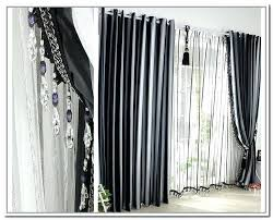 Black And White Damask Curtain White And Black Curtains U2013 Teawing Co