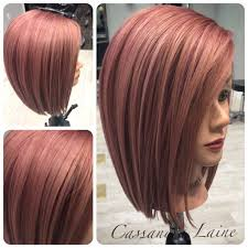 rose gold hair color rose gold a new take on fall hair color john paul mitchell