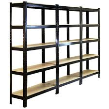 Heavy Duty Garage Shelving by 10 X Racking Storage Shelving Heavy Duty Garage 75cm Steel Shelves