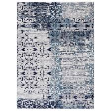 Navy White Area Rug Anti Fatigue Area Rugs Rugs The Home Depot