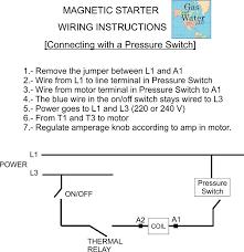 new magnetic motor starter control for electric motor compressor
