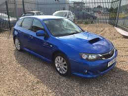 blue subaru hatchback used subaru impreza hatchback 2 5 wrx 5dr in coventry west