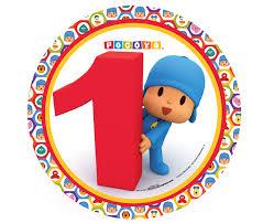 1st birthday pocoyo 1st birthday dinner plates birthdayexpress