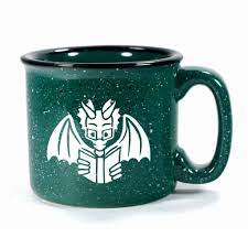 Dragon Coffee Cup Book Dragon Mug U2013 Bread And Badger Gifts