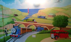 thomas the train bedroom put