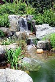 Pond In Backyard by 834 Best Backyard Waterfalls And Streams Images On Pinterest