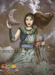 filipino mythology haliya the moon warrior picture filipino