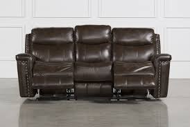 4 Seat Reclining Sofa by Bowman Power Reclining Sofa Living Spaces