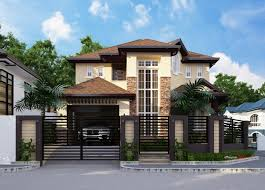 2 storey house proposed 2 storey residential house home design