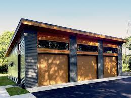 workshop plans plan 62636dj modern garage plan with 3 bays modern garage
