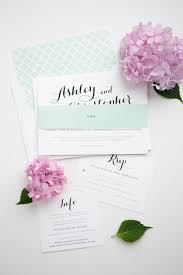 the most romantic mint wedding invitations u2013 wedding invitations