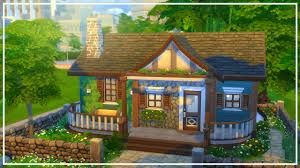 Rustic Home The Sims 4 Rustic House Speed Build Youtube