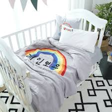 grey duvet cover set rainbow duvet cover solid color bed sheet