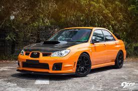 subaru orange subaru wrx sti u0026 mitsubishi evolution 9 the orange revolution 9tro