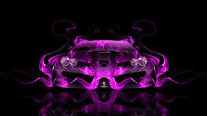 pink mercedes mercedes benz slr mclaren front fire abstract car 2014 el tony