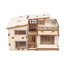 Free Miniature Dollhouse Plans Beginner by Model House Kit Ebay