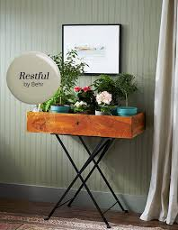 paint color pick restful by behr foyer colors guest bath and