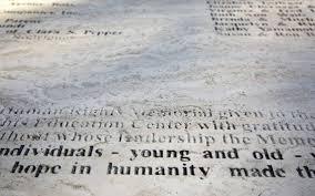 anti semitic slurs deface boise u0027s anne frank memorial