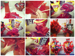 Valentine S Day Homemade Gift Ideas by Valentine U0027s Day Diy Gifts For Him Junk Food Bouquet I Made