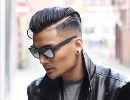 asian male side comb hair keeping it classy with the comb over
