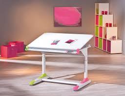 bureau enfant pliant bureau enfant contemporain inclinable coloris blanc michigan