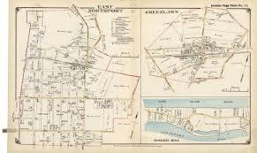 Suffolk County Map East Northport Greenlawn Asharoken Beach Huntington Township