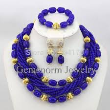 beads necklace sets images 16 color indian bridal jewelry set nigerian wedding beads costume jpg