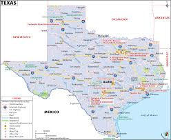 Interstate Map Of The United States by Texas Map Map Of Texas Tx Usa