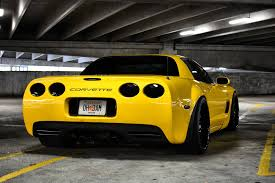 yellow corvette c5 2002 corvette z06 cammed widebody 360 forged wheels ga