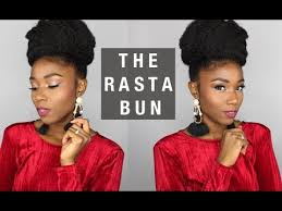 hairstyles for rasta easy natural protective hairstyle the rasta bun a natural hair