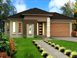 image of modern single storey house designs planssingle story