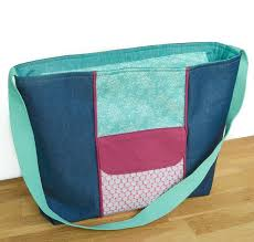 pattern for tote bag with zipper tutorial and pattern large zippered tote bag sewing