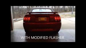 99 04 mustang sequential tail light kit raxiom sequential tail light install review 96 04 mustang youtube
