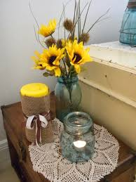 Sunflower Home Decor by Panoply Wedding Decor On A Dime Er Dollar Tree That Is